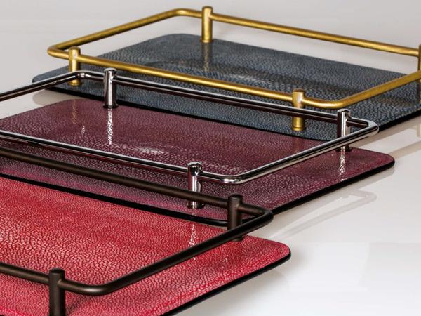 Leather trays & more
