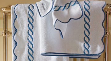 Scallop-mats,-towels