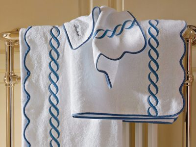 Scallop-mats,-towels
